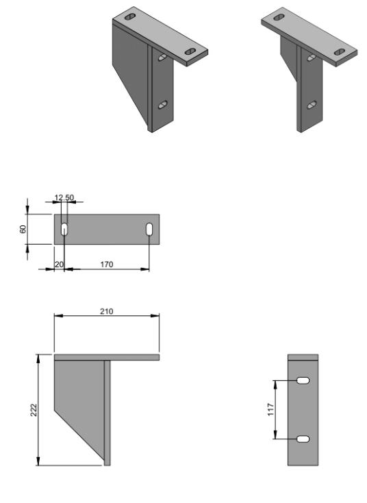 Tekening plafondsteunen